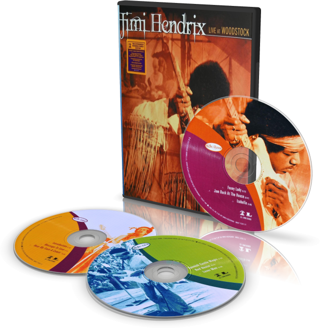 Jimi Hendrix ‎– Live At Woodstock 1969 mp3 320k